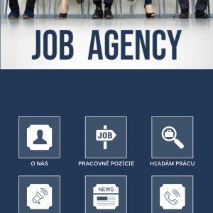 Mobil app pre job agentury